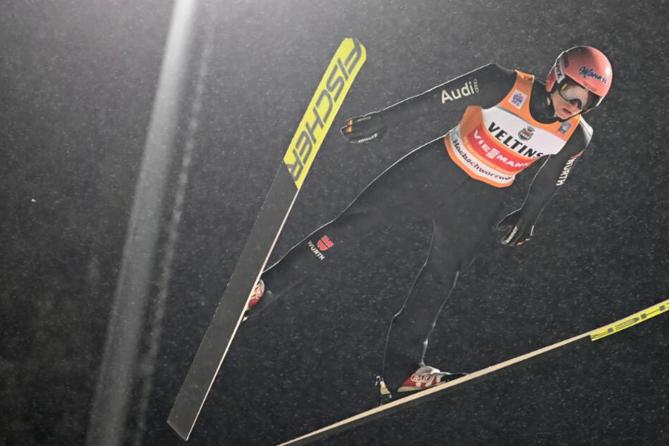 Skispringen: Geiger verpasst Top Ten: Leyhe und Schmid springen in die Bresche