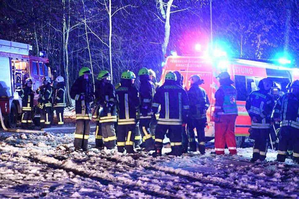Flugzeugabsturz mit drei Toten: Schnee erschwert die Bergung