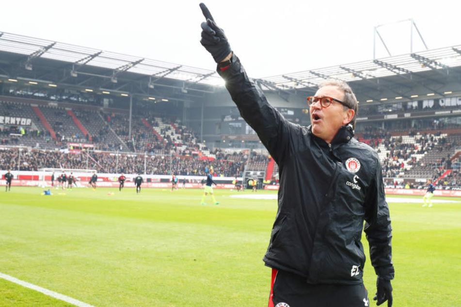 Zwischen 2014 und 2017 trainierte Ewald Lienen den FC St. Pauli. Heute ist er als Technischer Direktor beim Kiezclub aktiv.