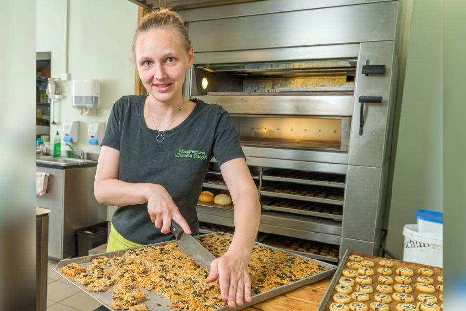 """Ein Paradies für Naschkatzen! Im Café """"Konditormeisterin Juliana Zaspel"""" auf der Keglerstraße in Gruna gibt es allerhand Leckereien."""