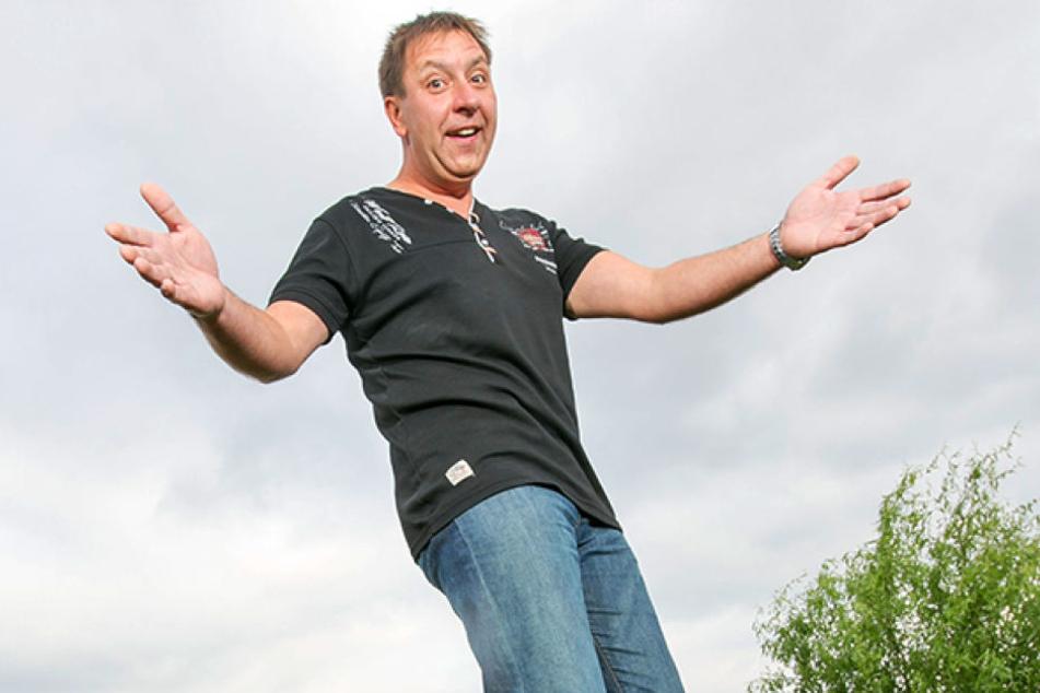 Thomas Böttcher (51) freut sich auf sein Fantreffen.