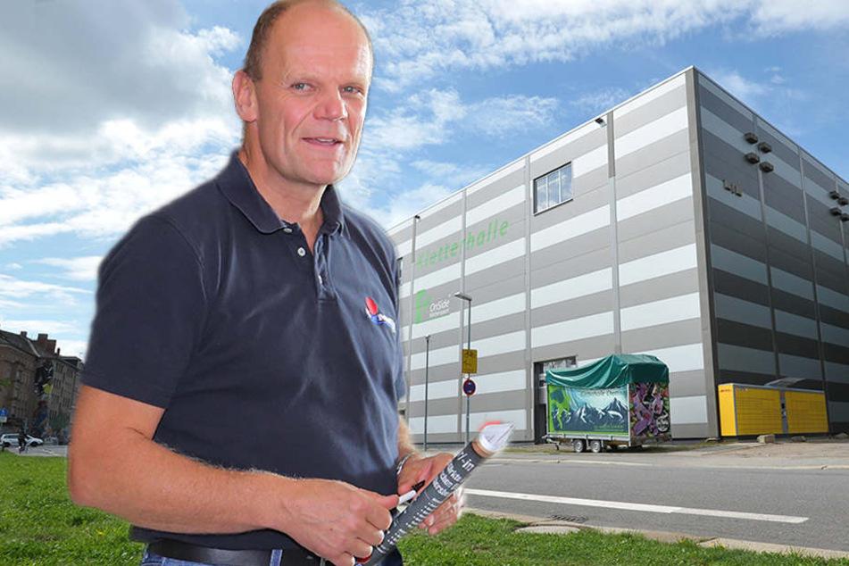Sachsens Supermarkt-König Simmel rettet die Kletterhalle