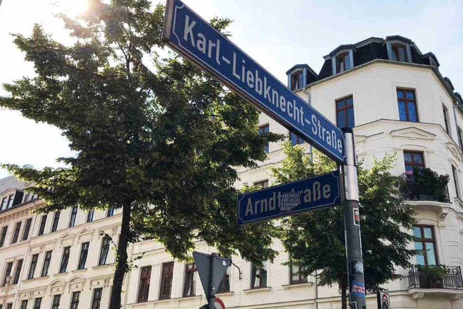 Bekommt diese Straße in der Südvorstadt einen neuen Namen?