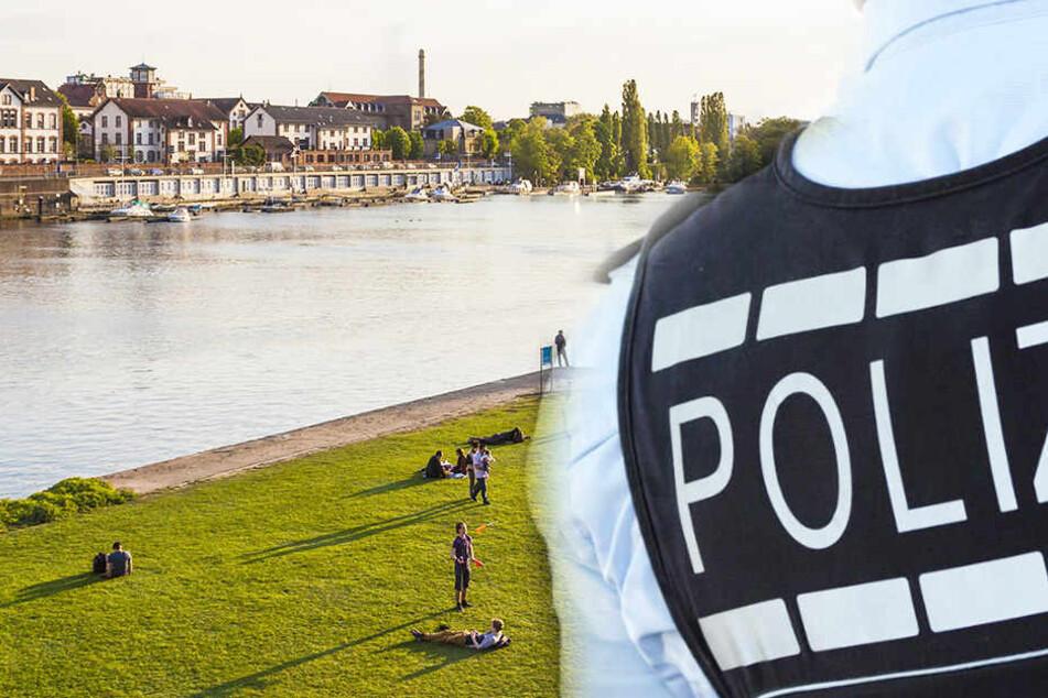 In der Nacht zu Sonntag wurden der Junge und das Mädchen auf der Neckarwiese in Heidelberg angegriffen.