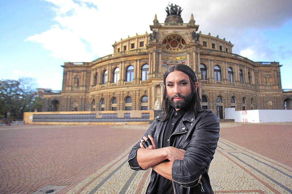 """Conchita zu Besuch in Dresden: """"Große Emotionen faszinieren mich"""""""