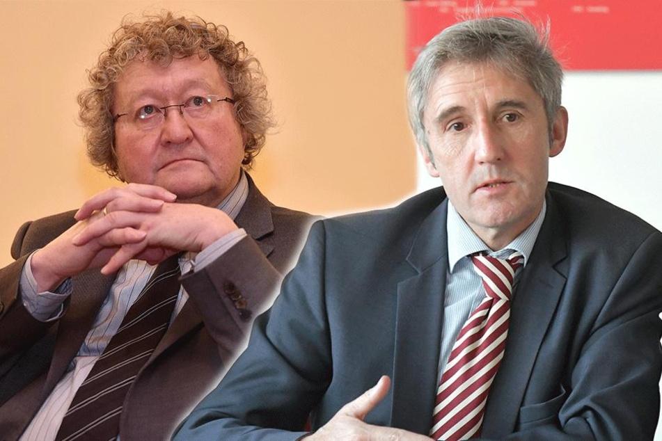 Dresden: Politiker schalten sich in Streit zwischen Patzelt und Richter ein