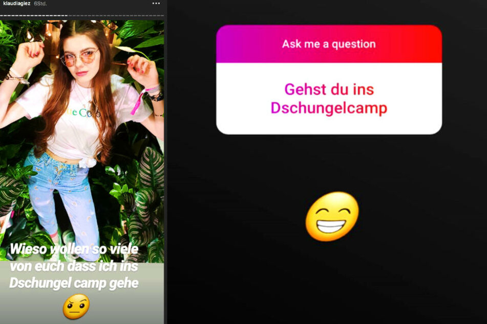 Ihre Fans wollen unbedingt wissen, ob Klaudia Giez (22) nächstes Jahr in den Dschungel zieht.