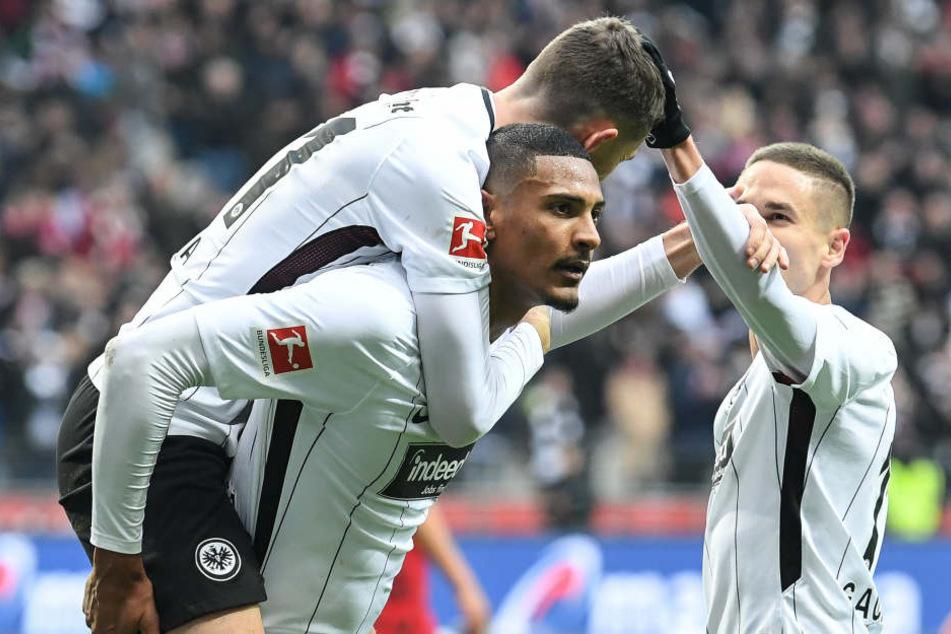 Jubelt die Eintracht auch gegen Mainz?
