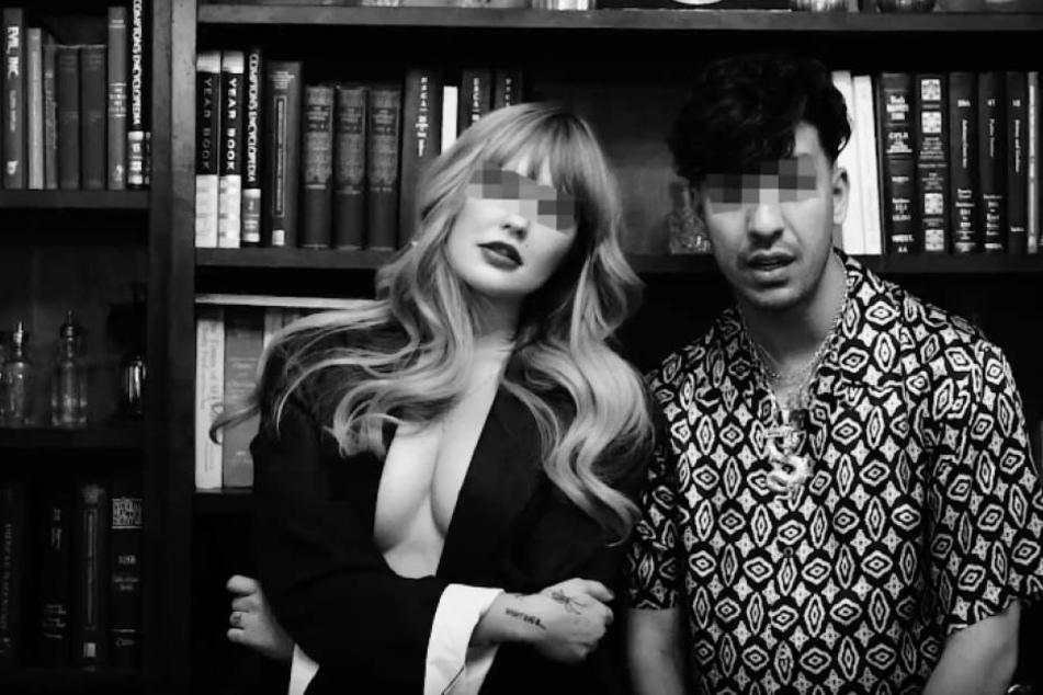 """Geballte Berlin-Power: Bonnie Strange (31) und Rapper Ufo361 im Video zu """"VVS""""."""