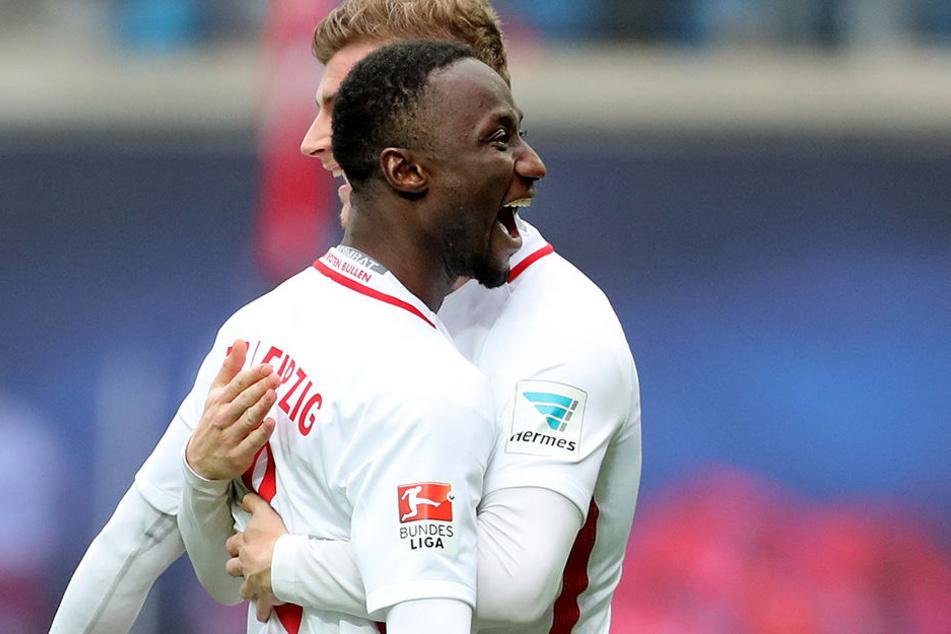 Auch Naby Keita wird laut Rangnick kommende Saison in Leipzig bleiben.