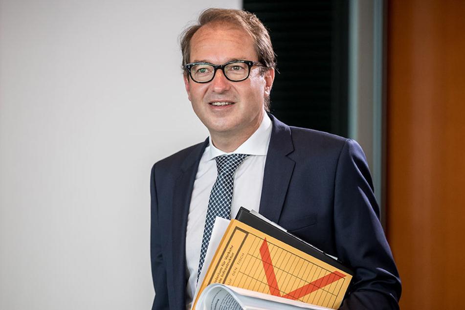 Es sei völlig normal, wenn Hauptstädte zwei Flughäfen haben: Alexander Dobrindt, Bundesverkehrsminister.