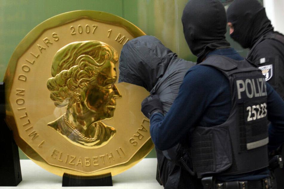 Nach Millionen-Coup im Berliner Bode-Museum: Wo ist die 100-Kilo-Goldmünze?