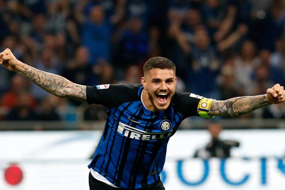 Mauro Icardi ist trotz irrer Scorerquote in der Serie A (121 Tore, 30 Vorlagen in 219 Partien) für Inter und Sampdoria Genua nach der Verpflichtung des Beligiers Romelu Lukaku (26, von Manchester United) nicht mehr gewollt in Mailand.