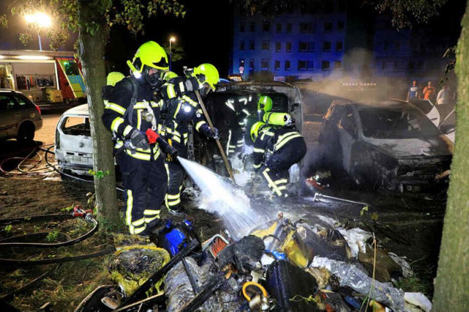 Das macht Bürgern Angst: In Gablenz geht immer wieder ein Brandstifter um.