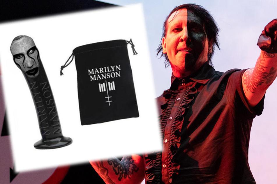 Für Hardcore-Fans: Marilyn Manson verkauft Dildo mit seinem Gesicht