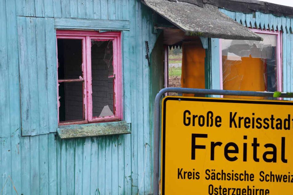 Der Garten eines Ehepaares in Freital wurde komplett verwüstet (Symbolbild).