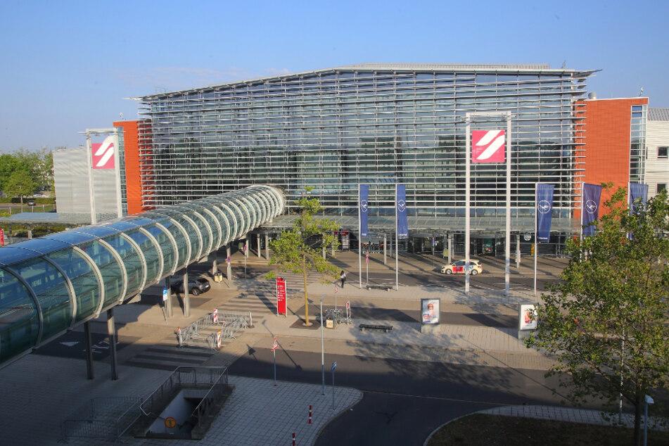 Am Dresdner Flughafen ist derzeit ziemlich wenig los.