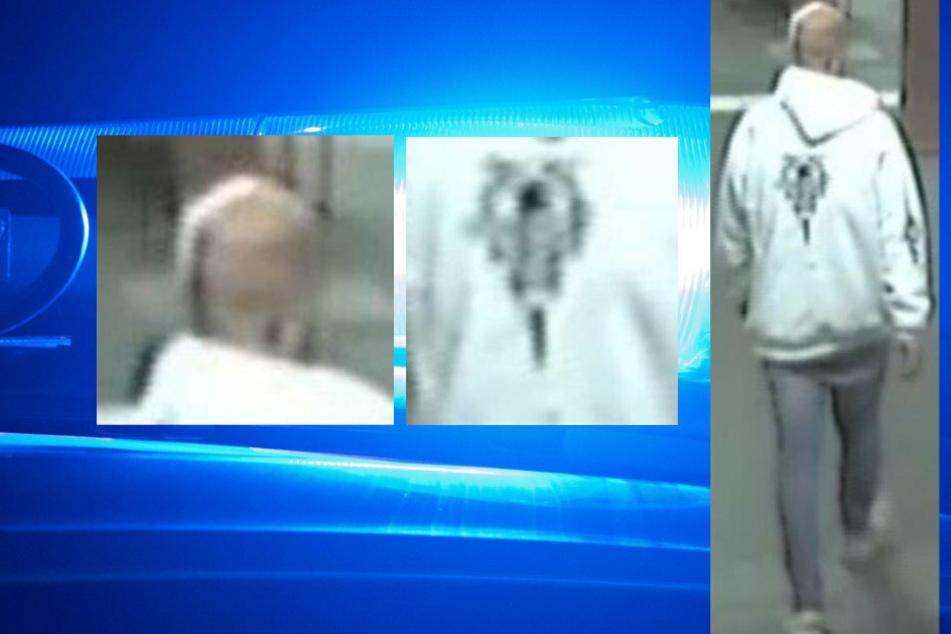 Mit diesen Fotos fahndete die Polizei nach dem Täter.