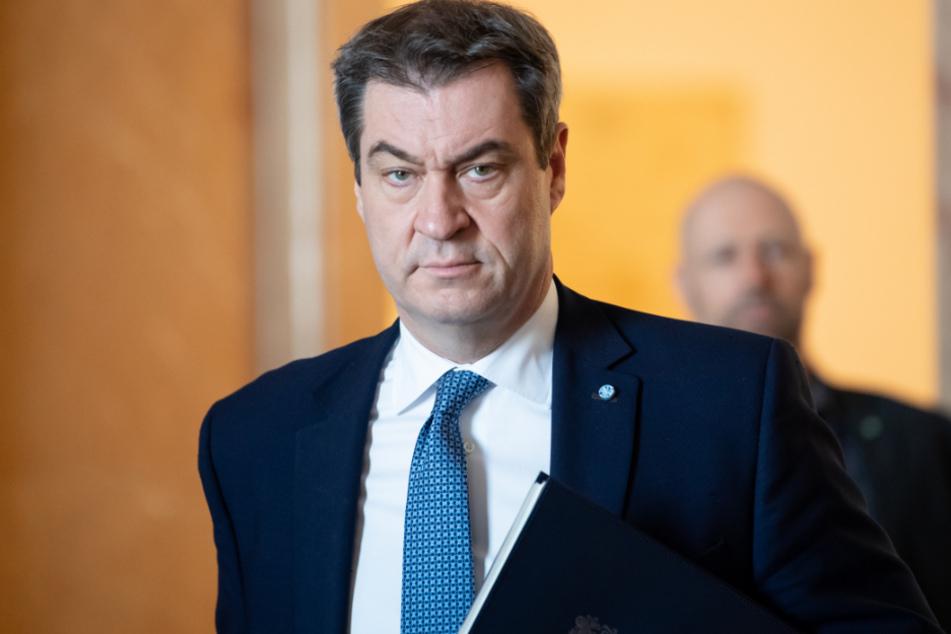Markus Söder (53, CSU), Ministerpräsident von Bayern.