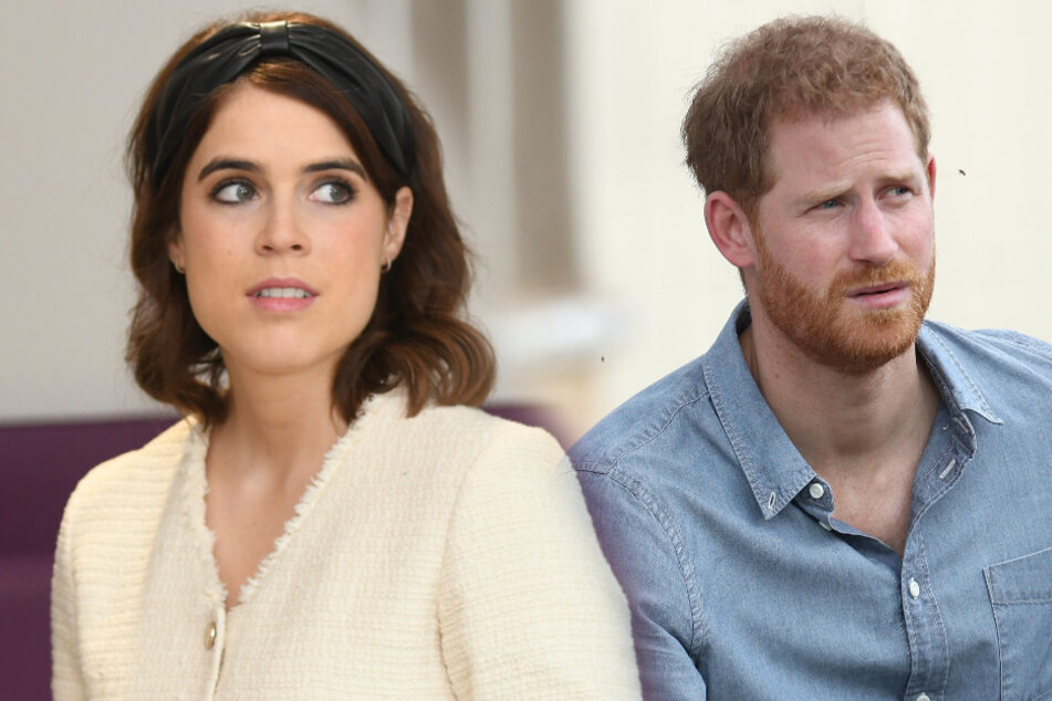Prinzessin Eugenie wohnt jetzt bei Prinz Harry