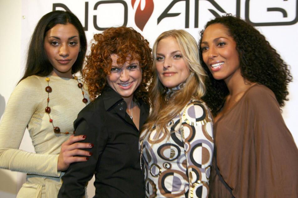 """Von links: Nadja Benaissa, Lucy Diakovska, Sandy Mölling und und Jessica Wahls feierten in den 2000ern riesige Erfolge als die """"No Angels"""". 2014 gab die Gruppe jedoch ihre Trennung bekannt. (Archivbild)"""