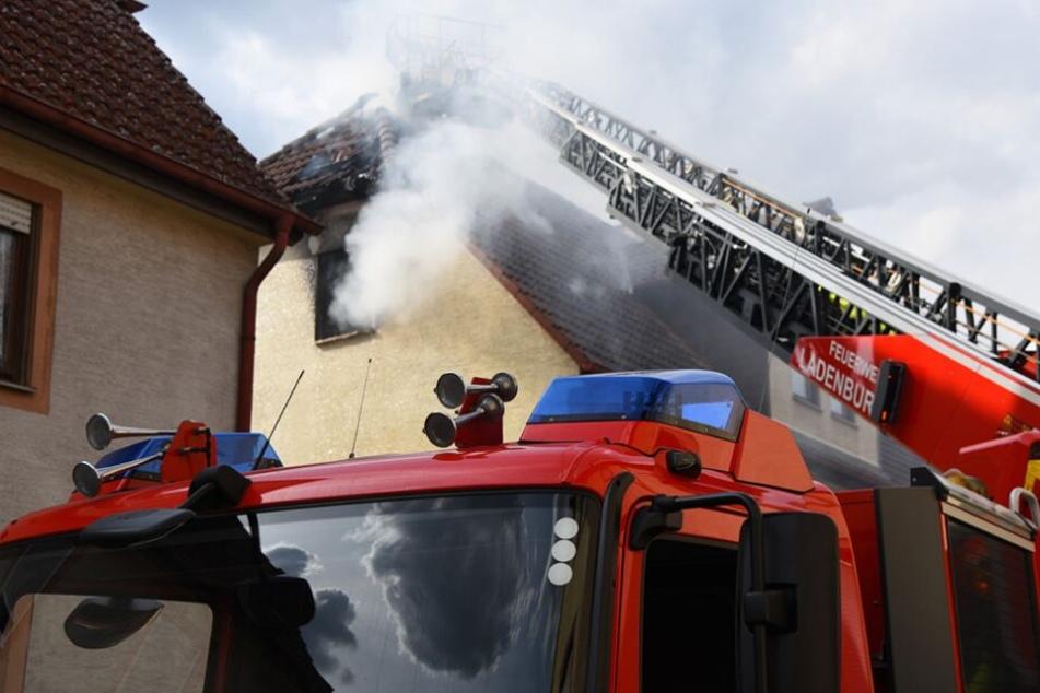 Beim Eintreffen der Feuerwehr war der Mann bereits tot. (Symbolbild)