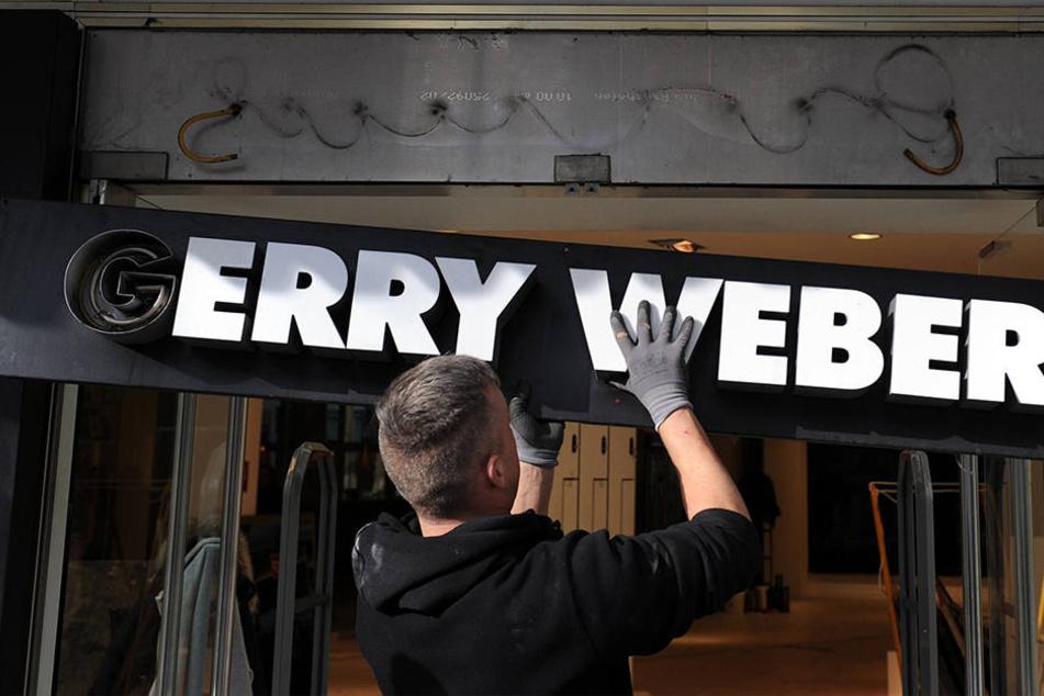 Der Umsatz von Gerry Weber ist von 195 Millionen auf 192 Millionen gesunken.
