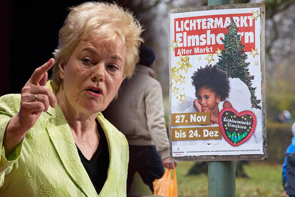 "Wegen Elmshorner Lichtermarkt-Plakat: ""Galgen bereits gerichtet"""