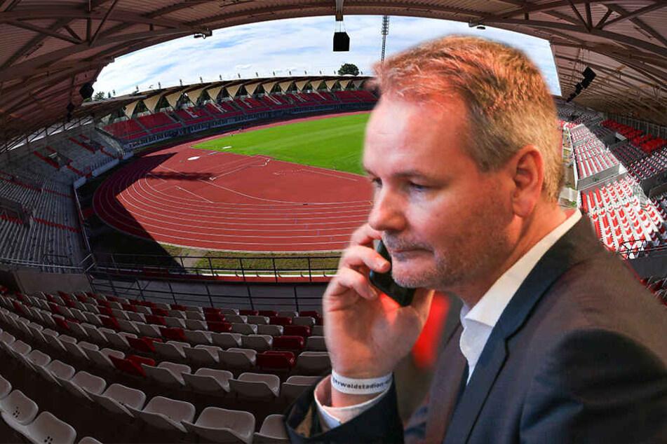 RWE-Präsident Frank Nowag kann durchatmen: Kurz vor Mitternacht wurde der millionenschwere Nachweis beim DFB eingereicht.