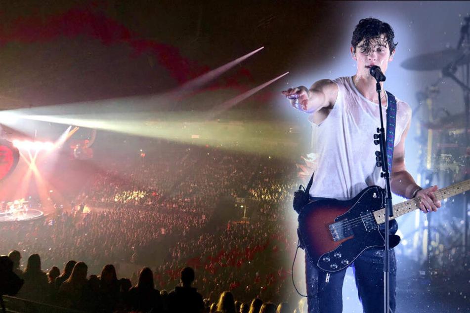 Sänger Shawn Mendes vor Konzert in Köln in Sorge