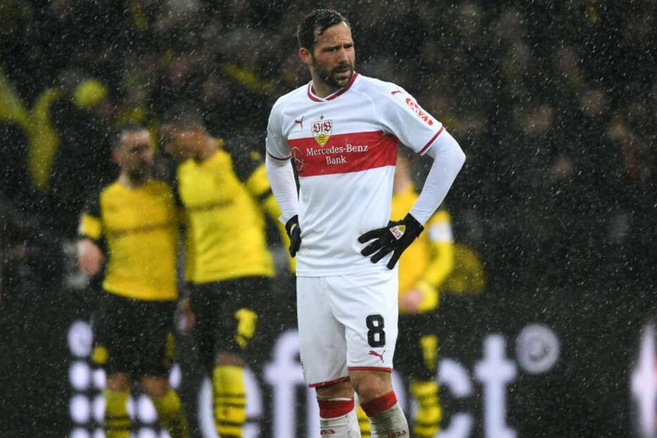 """War zuletzt """"Mister Zuverlässig"""" und fällt jetzt voraussichtlich drei bis vier Wochen aus: VfB-Mittelfeldmotor Gonzalo Castro."""