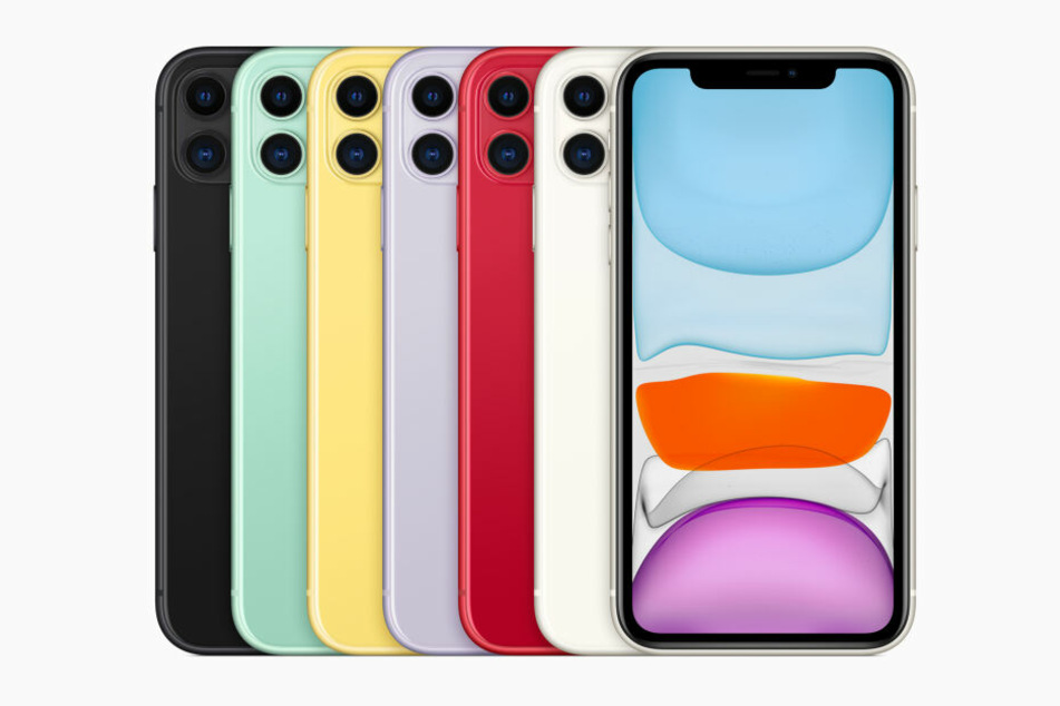 Das neue iPhone 11 kommt in vielen verschiedenen Farben.