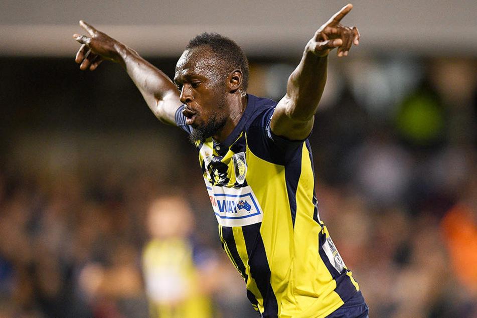 Lehnte ein Angebot des australischen Clubs Central Coast Mariners ab und ist jetzt auf Vereinssuche: Usain Bolt.