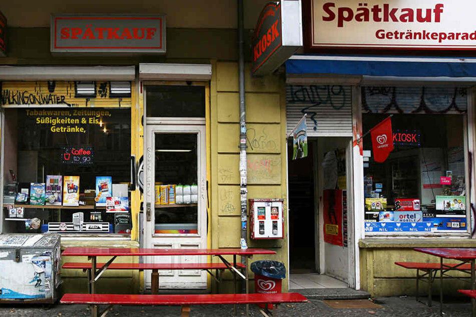 In Berlin haben Spätis teilweise rund um die Uhr geöffnet.