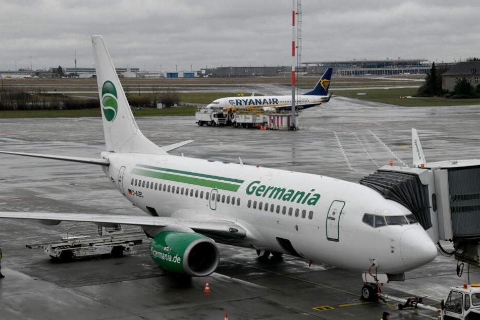Die Fluggesellschaft Germania hat Insolvenz beantragt (Symbolbild).