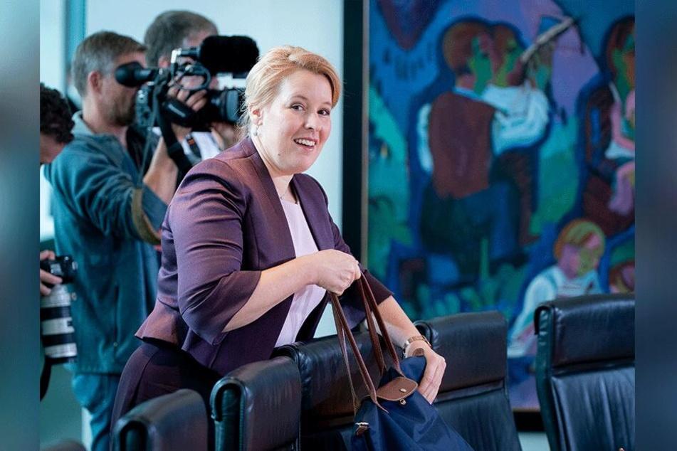 Die Bundesministerin für Familie, Senioren, Frauen und Jugend hat große digitale Pläne.