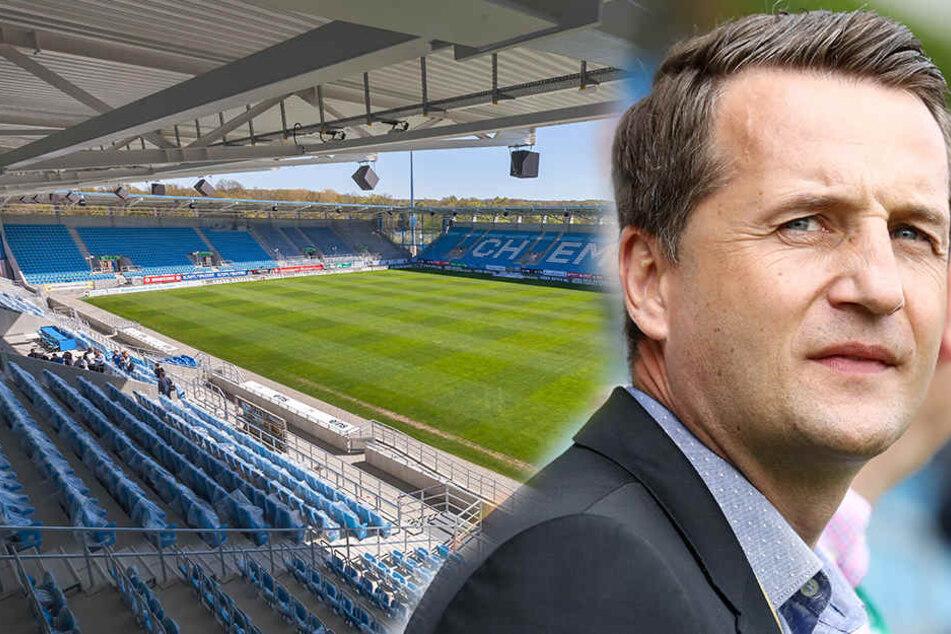 Sportdirektor Thomas Sobotzik muss in den kommenden Wochen eine neue CFC-Mannschaft zusammenstellen.