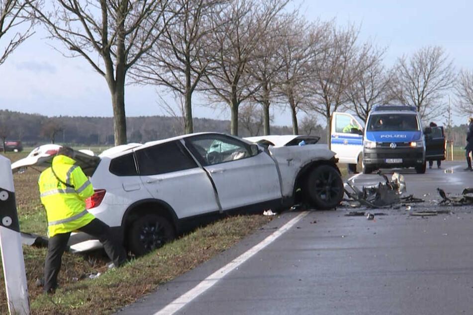 Auf der B87 ereignete sich am Montagmorgen ein tragischer Unfall.