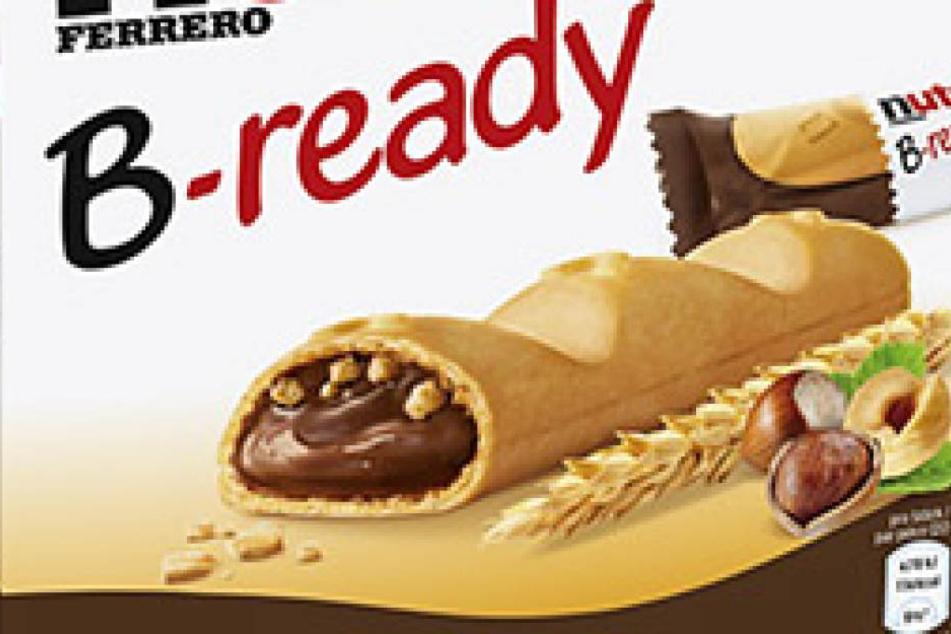 """""""Nutella B-ready"""" wird man ab sofort bundesweit in den Snackregalen finden."""