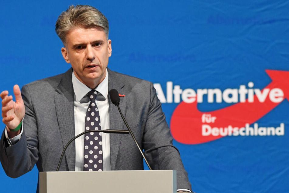 Meint der Verfassungsschutz soll schlicht Wähler vor der AfD abschrecken: AfD-Landesvorsitzender Marc Jongen.