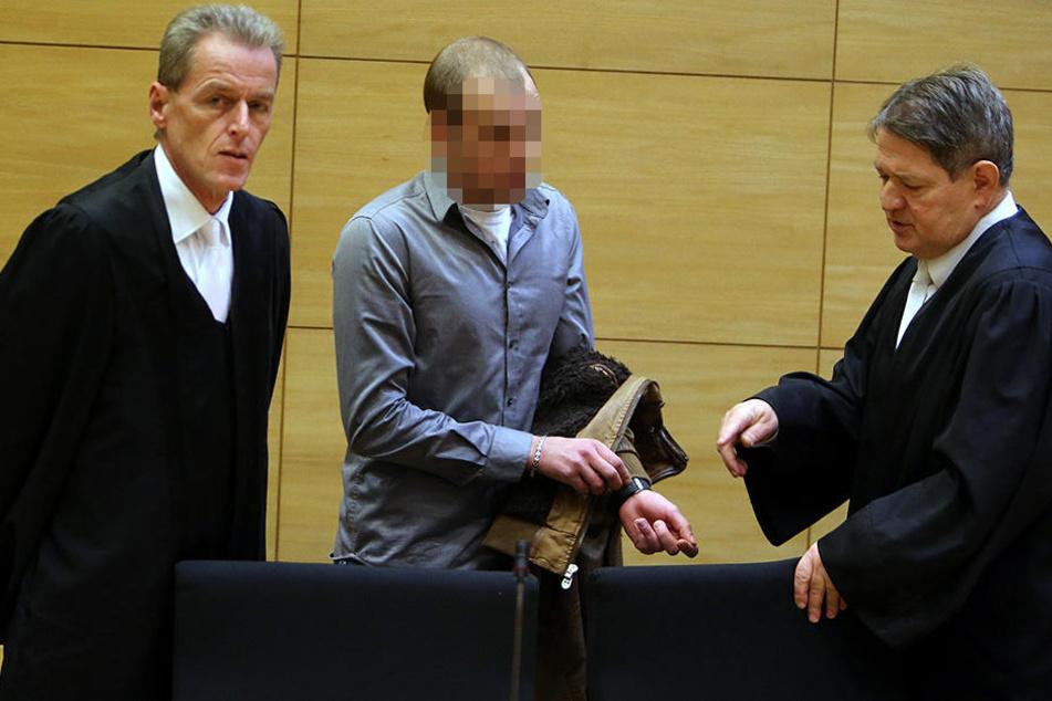 Der 26-jährige Angeklagte bei seiner Gerichtsverhandlung im Dezember letzten Jahres.
