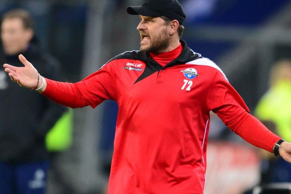 Auf zwei Stammkräfte muss SCP-Trainer Steffen Baumgart verzichten.