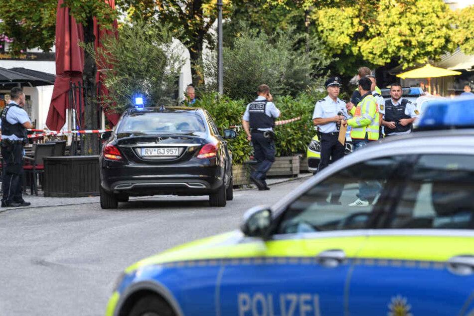 Die Polizei ist verstärkt in der Ravensburger Innenstadt unterwegs.