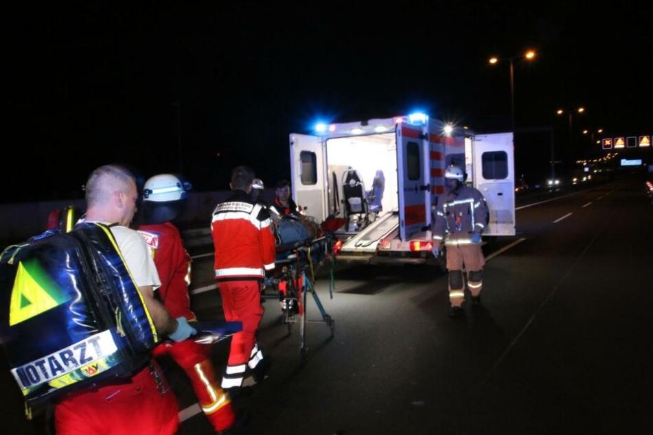 Der Seat-Fahrer wurde ins Krankenhaus gebracht.
