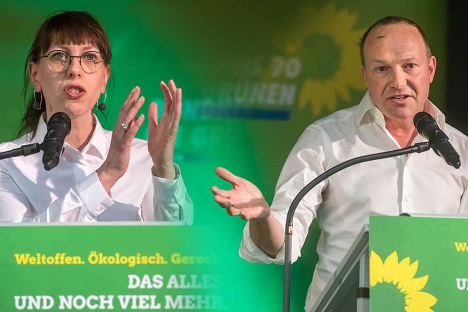 Sachsens Grüne im Höhenflug! Wer macht's nach der Wahl mit wem?