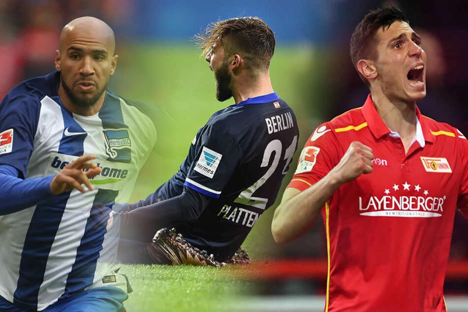 Wer wird Berlins Fußballer des Jahres in Berlin? Anthony Brooks, Marvin Plattenhardt und Damir Kreilach stehen zur Wahl.