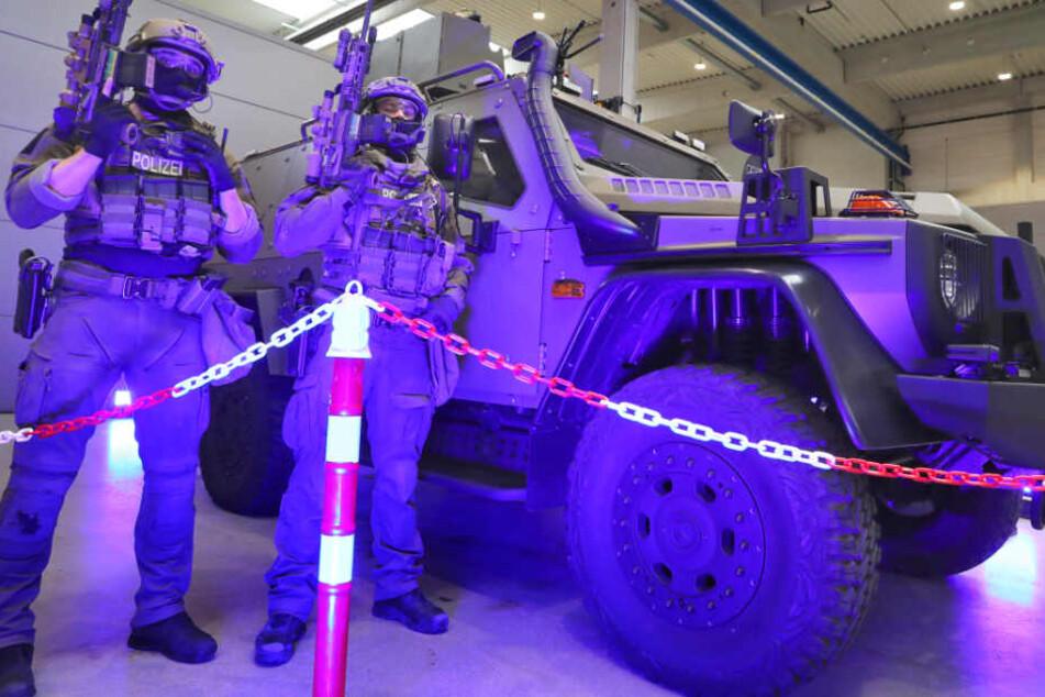Dieses Fahrzeug soll in Bayern bei Terroreinsätzen der Polizei helfen