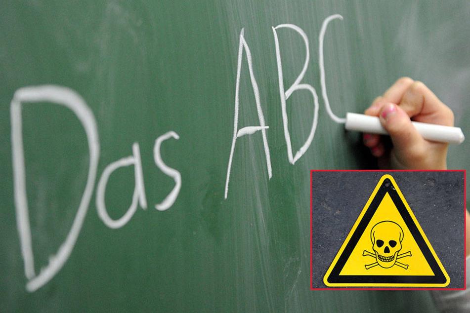 Spezialisten untersuchen die ausgelaufenen Stoffe. Erst dann wird entschieden, wann die Kinder zurück in die Klassen können. (Symbolbild)