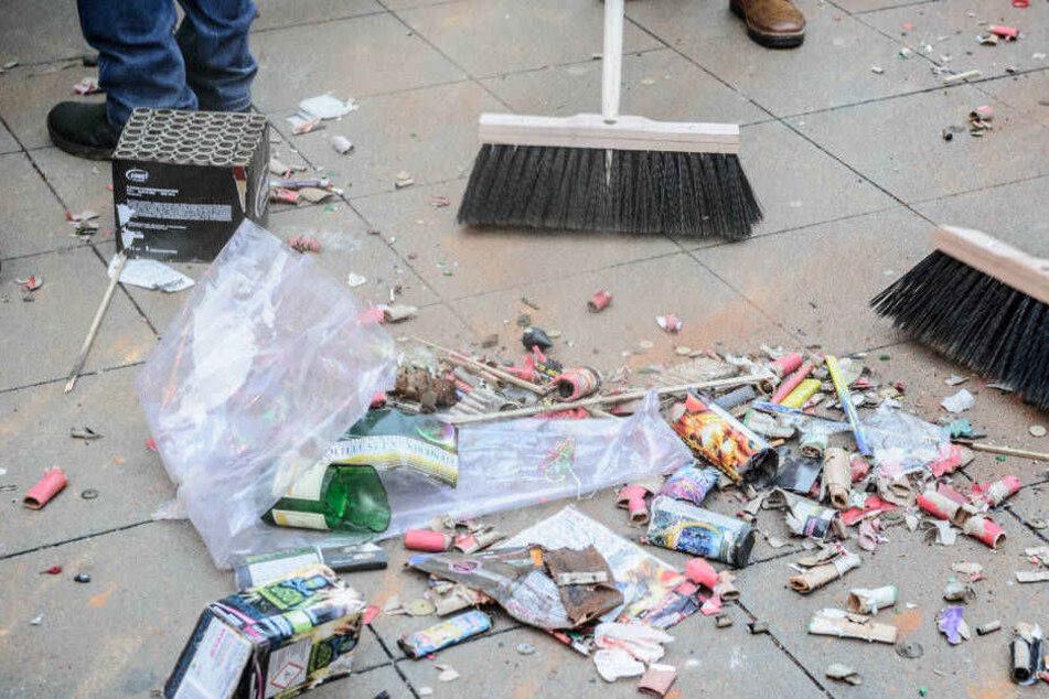 Silvester macht Müll, aber weniger als Karneval.