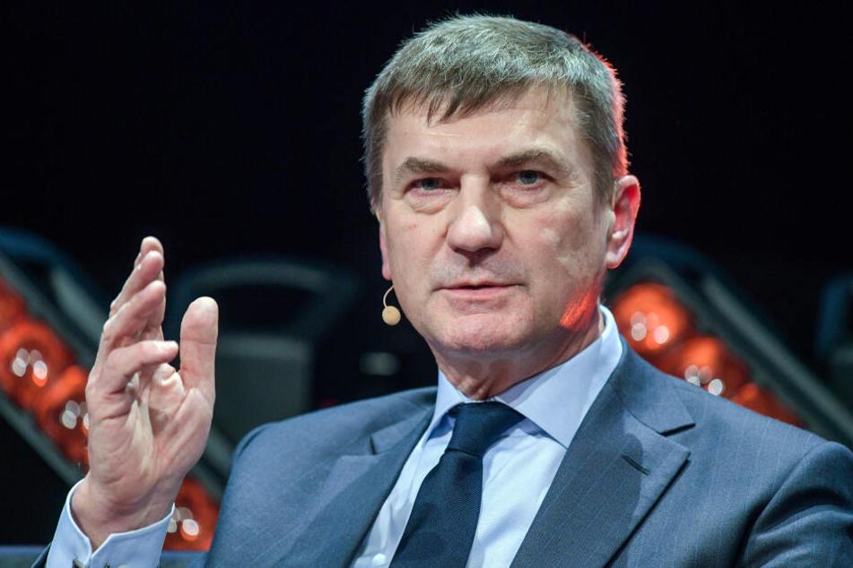 EU-Kommissionsvize Andrus Ansip lobte die Pläne für das Urheberrecht.